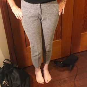Gray Skinny Theory Pants
